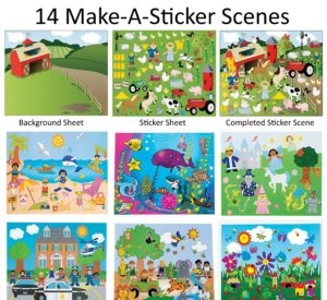 14 Make a sticker scenes