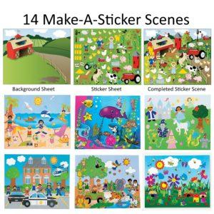 14 Make a sticker scenes