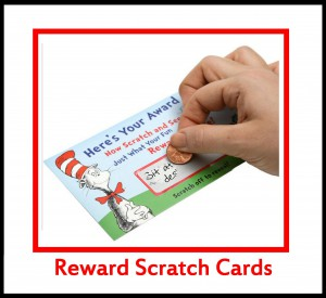 Reward Scratch Cards