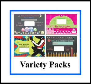 Variety Pack Scratch Cards