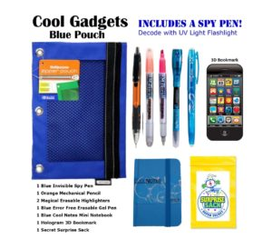 Cool Gadgets Blue Pouch
