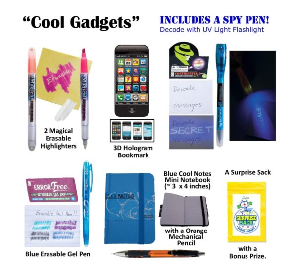 Cool Gadgets with an Invisible Ink Pen