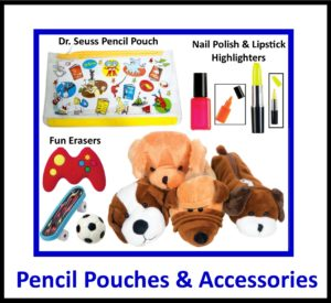 Fun Pencil Pouches & Accessories
