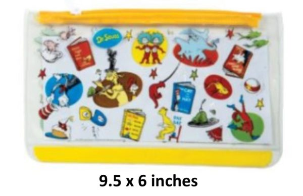 Dr. Seuss - Yellow Pencil Case