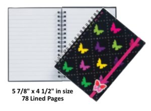 Butterfly Notebook Journal Diary