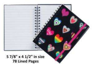Heart Notebook Journal Diary