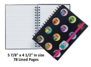 Owl Notebook Journal Diary