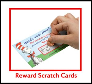 Reward Scratch Cards -